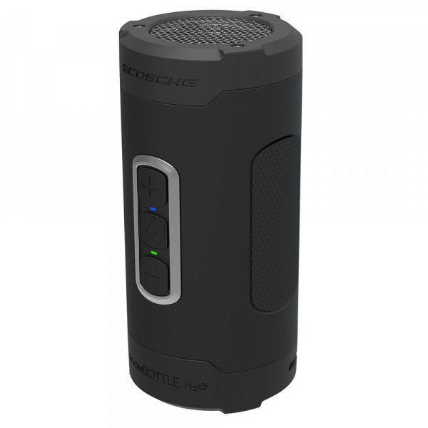 BoomBottle H2O+  Rugged Waterproof Wireless Speaker (Black/Silver)