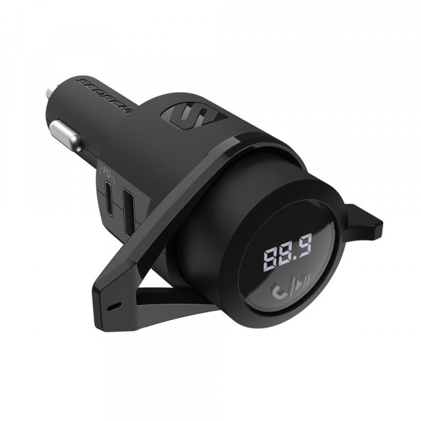BTFreq™ Bluetooth FM Transmitter with Power Delivery