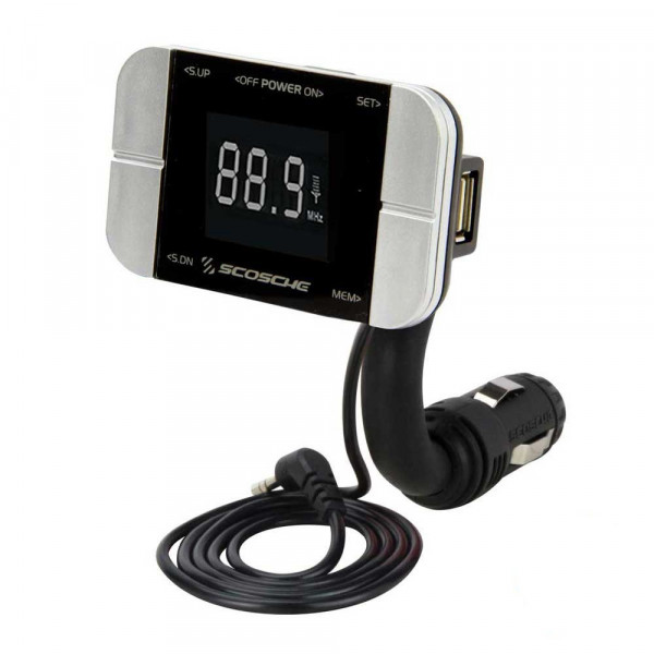 TuneIt Pro Docking FM transmitter with USB charger
