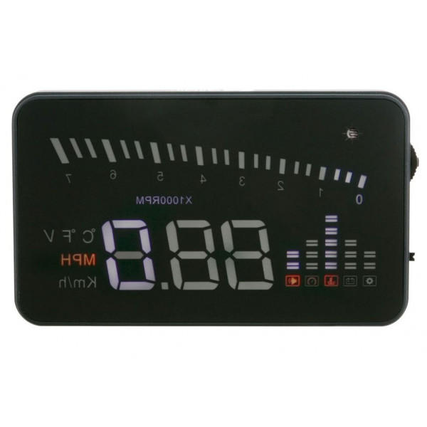 HeadsUp OBDII  - Add-on Heads Up LED Display
