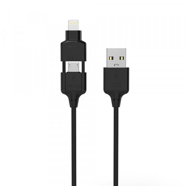 StrikeLine Pro Lightning & micro-USB Charge & Sync Cable 0.9m