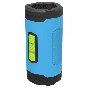 BoomBottle H2O+  Rugged Waterproof Wireless Speaker (Sports Blue)