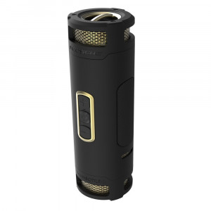 BoomBottle+ Rugged waterproof wireless portable speaker (Black/Gold)