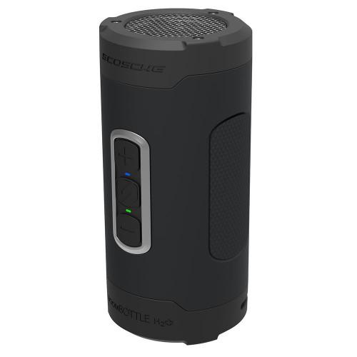 BoomBottle H2O+  Rugged Waterproof Wireless Speaker (Black/Silver)