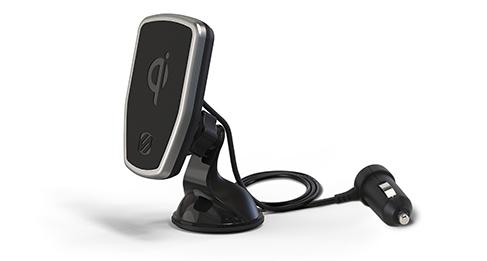 SCOSCHE MPQ2WD-XTSP MAGICMOUNT PRO WIRELESS QI CAR CHARGER -